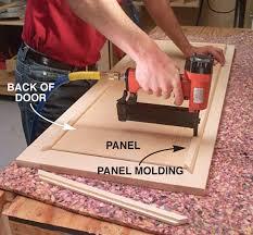How To Add Molding To Cabinet Doors Moulding Cupboard Doors U0026 Painted