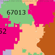 zip code map wichita ks wichita kansas zip code boundary map ks