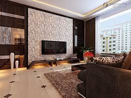Modern Stylish Three Bedroom Living Room TV Background Wall - Living room decorating ideas 2012