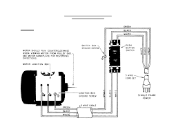 capacitor start run induction motor wiring diagram for single