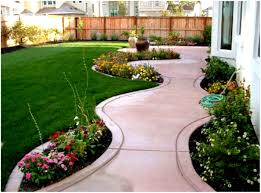 Walkway Ideas For Backyard by Backyards Bright Home Landscaping Tips 132 Backyard Walkway