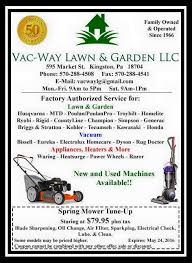 Rug Doctor Coupon 10 Vac Way Lawn U0026 Garden Llc Home Facebook