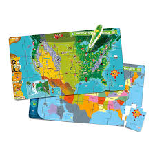 Image Of United States Map by Amazon Com Leapfrog Leapreader Interactive United States Map
