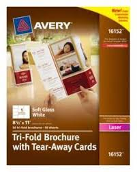 Avery Table Tents Avery Laser U0026 Inkjet Embossed Tent Cards 3 1 2