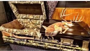 camo casket 8 creative coffins for an outdoorsman