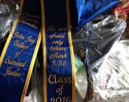 graduation stole custom graduation stole etsy