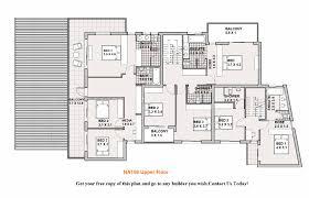 simple double story house plans home deco plans