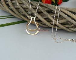 necklace with ring holder images Silver gold rose ring holder necklace wedding ring jpg
