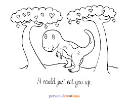 dinosaur train valentines day cards and coloring sheet printables