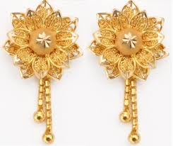 new fashion gold earrings gold jewellery fashion designs earrings gold jewellery designs