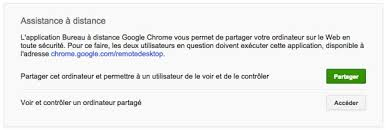bureau distance chrome comment contrôler un ordinateur à distance avec chrome