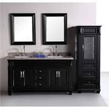 Bathroom Tower Cabinet Linen Tower Bathroom Vanities U0026 Vanity Cabinets Shop The Best