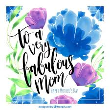 Purple And Blue Flowers Mother U0027s Day Web Design Freebies Greet Her The Way She Deserves