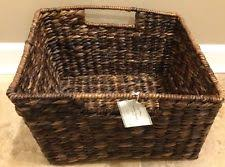 Pottery Barn Storage Bins Pottery Barn Home Storage Bins U0026 Baskets Ebay