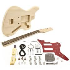 seattle jazz electric guitar diy kit at gear4music com