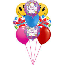 delivery of balloons for birthdays send this colorful birth day balloons on special day of birth to
