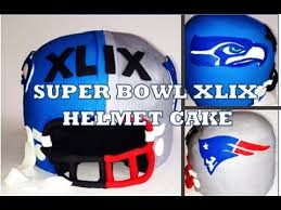 how to make a super bowl cake featuring seahawks u0026 patriots from