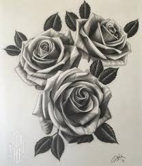 collection of 25 rose tattoo design
