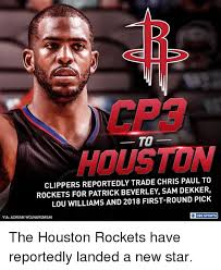 Clippers Memes - cp3 houston to clippers reportedly trade chris paul to rockets
