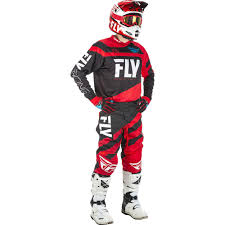 motocross riding gear combos fly racing 2018 f 16 red black gear combo at mxstore