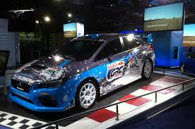 wrc subaru 2015 2015 subaru wrx sti rally car shown at new york show u2013 automobile