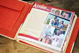 bridal shower photo album a gift from the bridesmaids and matron of honor a scrapbook
