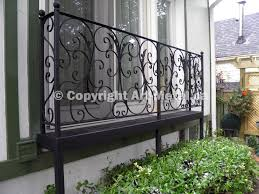 iron balcony railings toronto mississauga oakville richmond