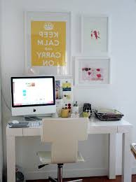 White Parsons Desk Extraordinary Floating Desk Ikea With Parsons Table White Office