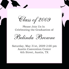 college graduation announcement template graduation invitations cards sles or graduation