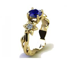 rings for mothers day filigree ring gold ring mothers day gift sapphire ring