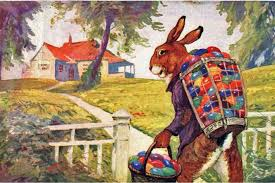 origin of easter from pagan festivals and christianity to bunnies