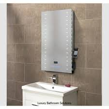 Led Bathroom Mirrors Audio Image Luxury Designer Illuminated Led Bathroom Mirror With
