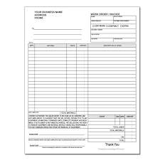 cake order carbonless work order forms designsnprint