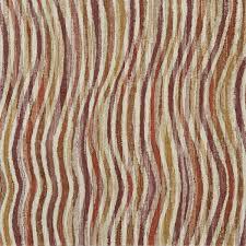 Papier Peint Vert Anis by Antipodes Rayures Ondulees Orange Prune Casamance