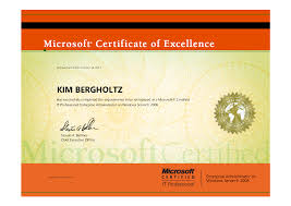 kim bergholtz microsoft directory services