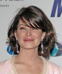 how can i get my hair ut like tina feys lara flynn boyle medium wavy casual hairstyle haircuts and hair style