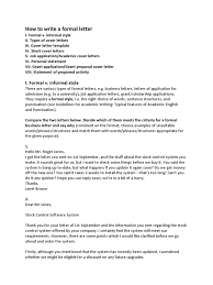 academic cover letter format how to write a formal letter doctor of philosophy thesis