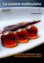 la cuisine moleculaire tpe la cuisine moleculaire numéro unique a magazine created