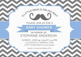 sample baby shower invitation templates for word and black white