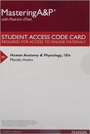 Anatomy And Physiology With Lab Online Human Anatomy U0026 Physiology Masteringa U0026p With Pearson Etext