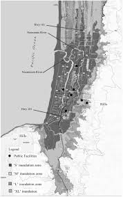Map Of Seaside Oregon by Fifty Year Resilience Strategies For Coastal Communities At Risk