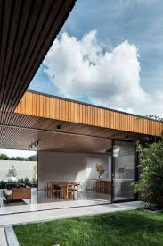 view in gallery u shaped home trees passive light shade bold and