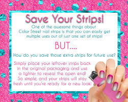 clever tip to save your extra color street nail polish strips get