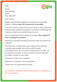 Fundraising Letter Sles For Donations 4 Awesome And Effective Fundraising Letter Templates