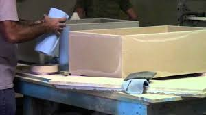 making of concrete farm sinks youtube