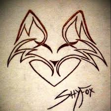 tribal fox logo design by shyfoxdesign on deviantart