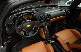 ferrari enzo custom ferrari enzo rare grey with brown interior cars