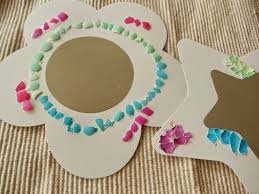 eggshell mosaic craft project for kids art and craft projects ideas