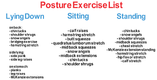 Standing Desk Posture by Top Exercises To Improve Posture That You Can Do Today