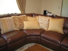 beautiful pillows for sofas excellent custom made various beautiful pillows to accent a leather